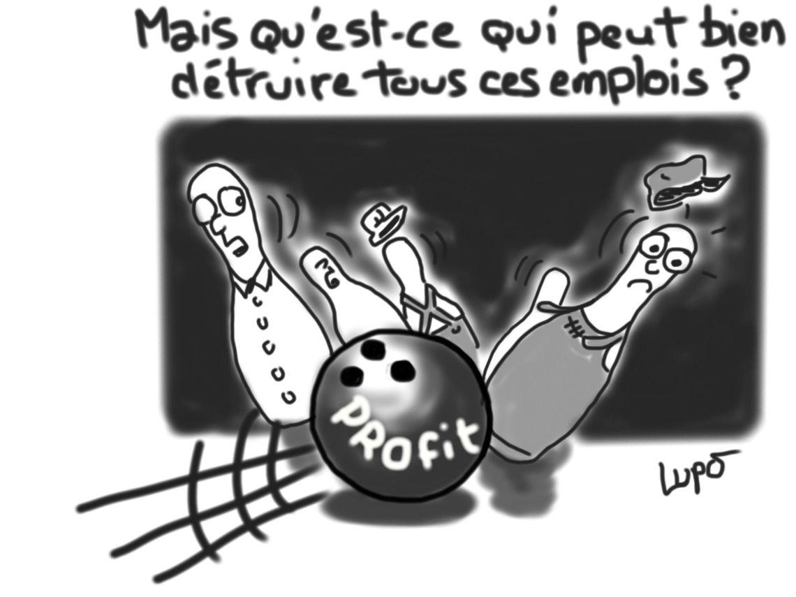 bowling suppression emplois