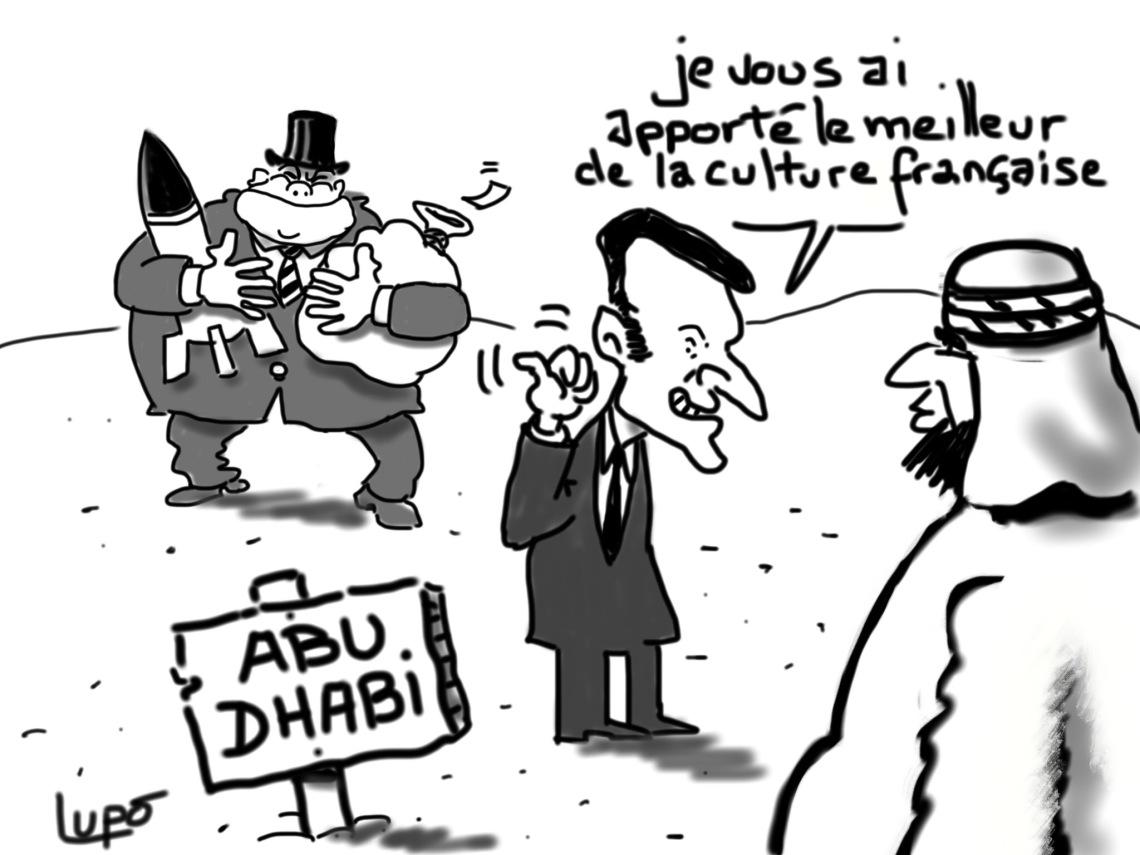 Macron Abu Dabi