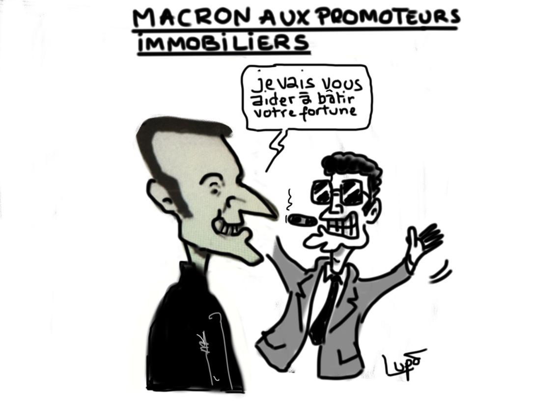 Macron promoteurs immobiliers