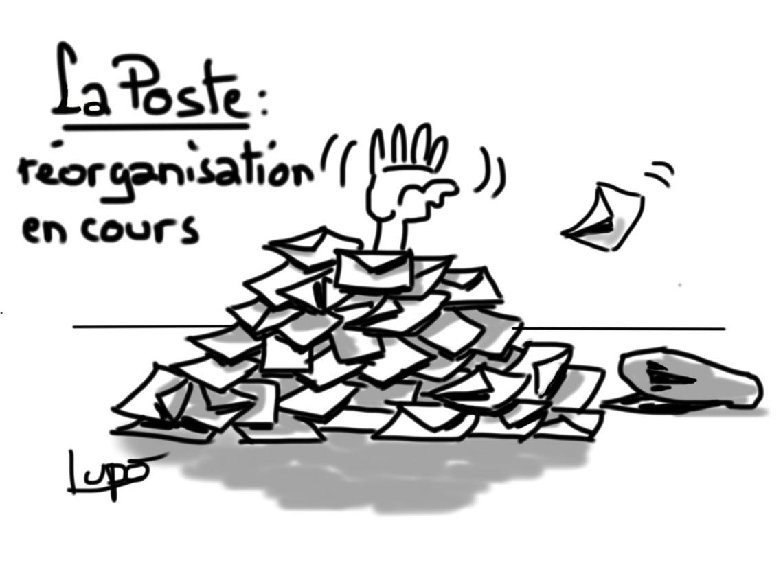 réorganisation La Poste