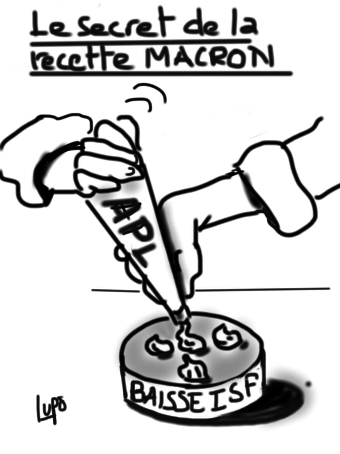 REcette Macron Lupo