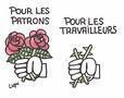 Roses pour patrons